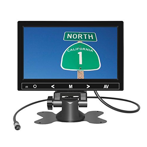 7 Inch TFT LCD Car Monitor 2 Video ...