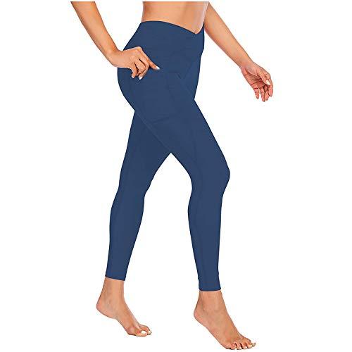 GenericBrands Pantalones De Yoga Leggings Push Up Mujer Mallas Pantalones Deportivos Alta Cintura Elásticos Yoga Fitness Leggings Deporte Mujer