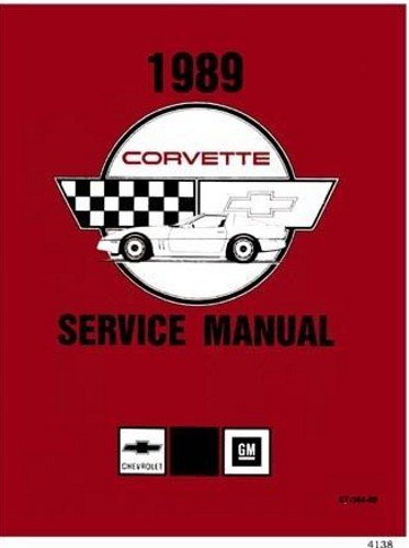 corvette factory service manual - 2