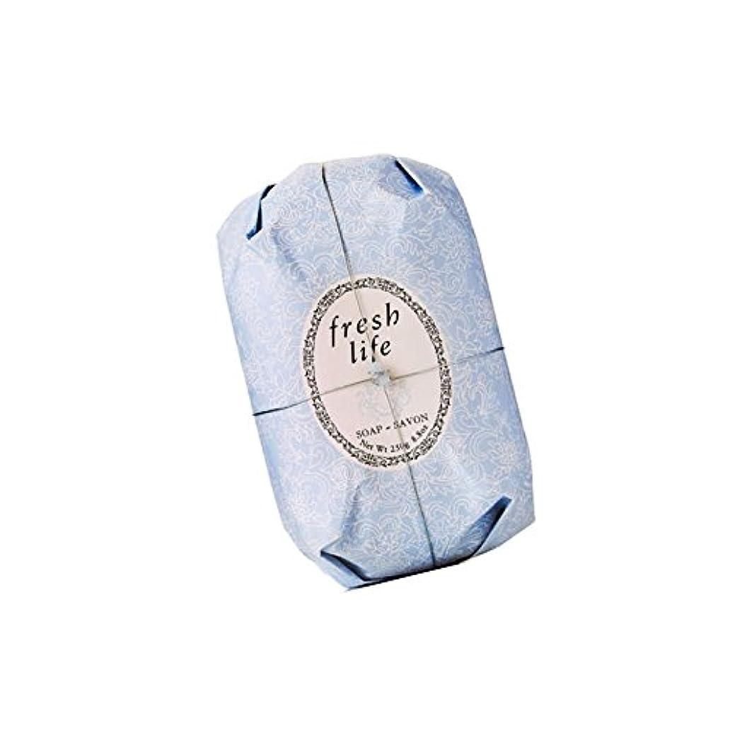 殺す賛辞血色の良いFresh フレッシュ Life Soap 石鹸, 250g/8.8oz. [海外直送品] [並行輸入品]