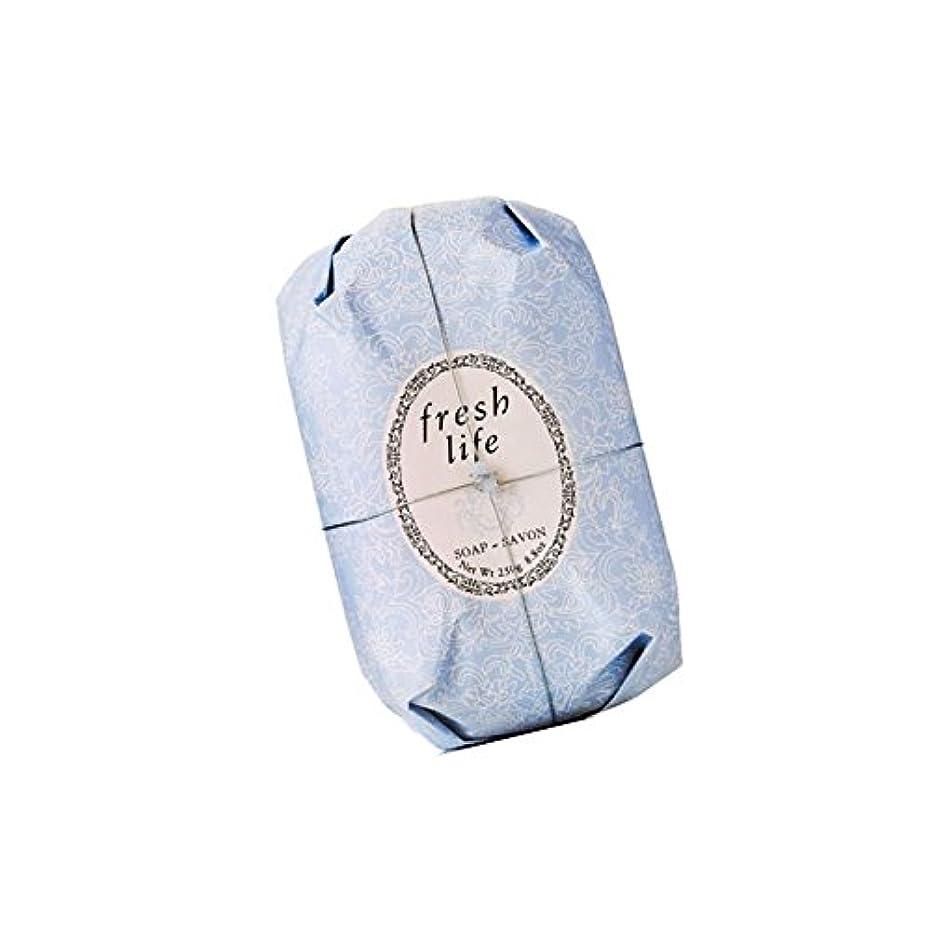 百万メディア支援Fresh フレッシュ Life Soap 石鹸, 250g/8.8oz. [海外直送品] [並行輸入品]