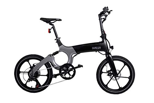 Vélo Electrique Guidon Pliable Roues 20 Pouces Alu Cadre Design en Magnésium