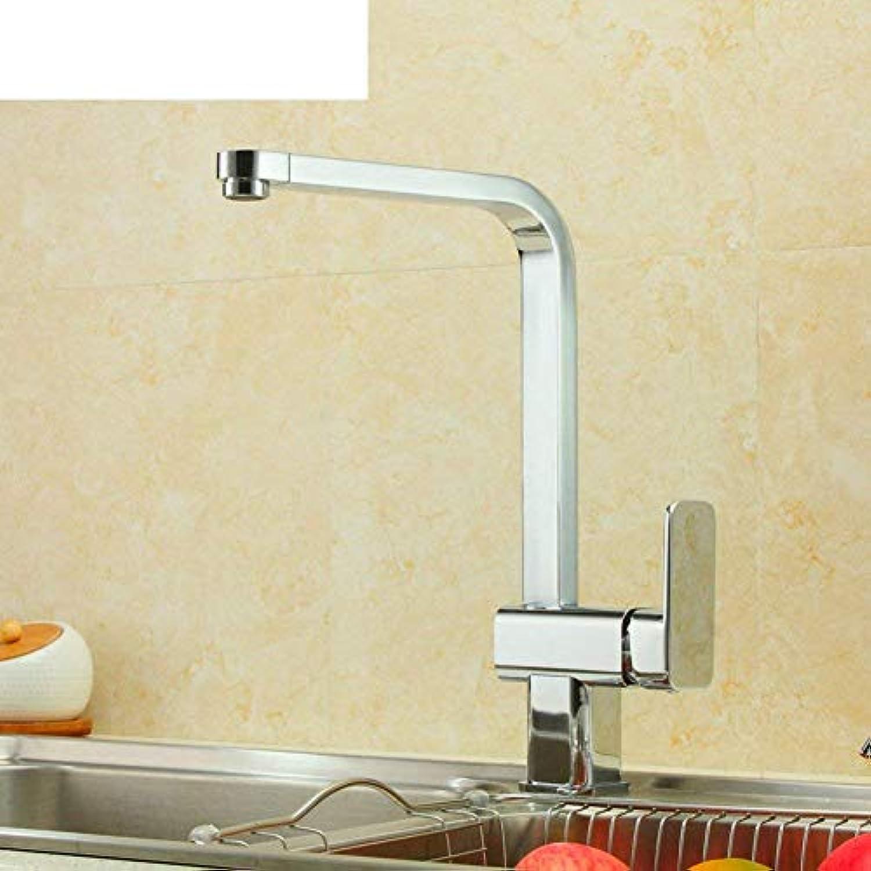 Oudan Küchenarmatur Warmes und kaltes Gemüse Becken Waschbecken Wasserhahn (Farbe   -, Gre   -)