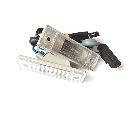 Car Replacement Accessories Placa de matrícula trasera de índice limpia con botón de interruptor troncal para Chevrolet Cruze 2009-2014