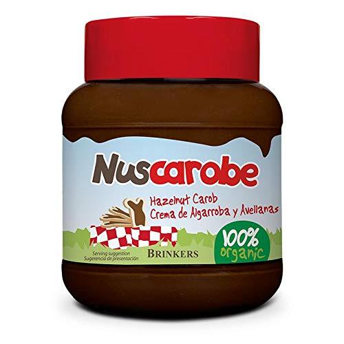 Nuscarobe Crema Algarroba Avellanas Nuscarobe 350G 350 ml
