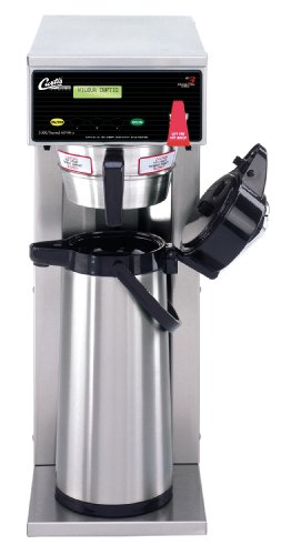 Wilbur Curtis G3 Airpot Brewer 2.2L To 2.5 L Single/Standard Airpot Coffee Brewer, Dual Voltage - Commercial Airpot Coffee Brewer - D500GT63A000 (Each)