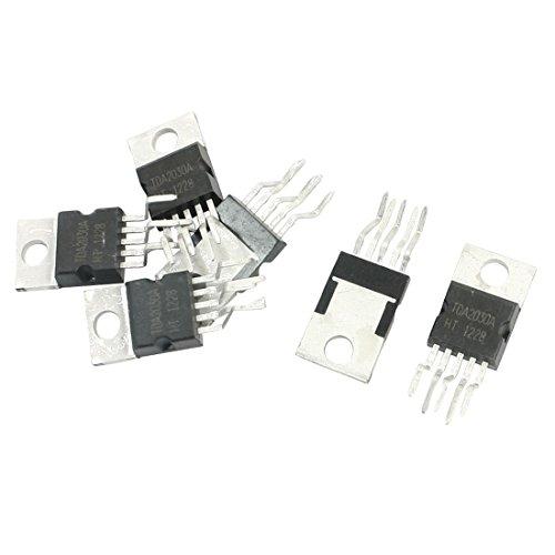 18W Hi-Fi Amplificador - SODIAL(R) 6 piezas TDA2030A TO-220 18W Hi-Fi Amplificador de circuito integrado de controlador de 35W