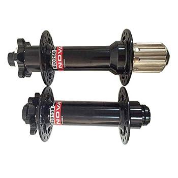 HULKWHEELS Novatec D201SB D202SB 32 Holes Snow Fat Bike Disc Hubs Front & Rear Hub Set Thru Axle 15×150mm Rear 10/12×177mm/190mm/197mm for Shimano 11s and Sram XD  Rear hub12×170mm