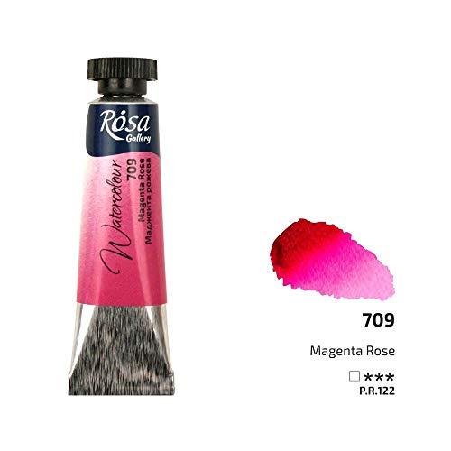 Pintura de acuarela profesional, tubos de 10 ml, ROSA Gallery, calidad de artista Magenta Rose