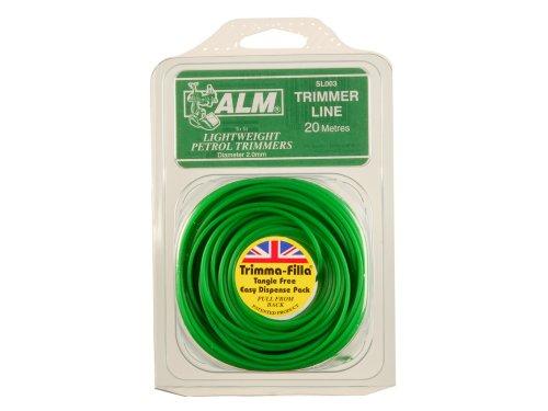 Toolbank ALMSL002 fil pour coupe-bordure 2.0 mm x 20 m
