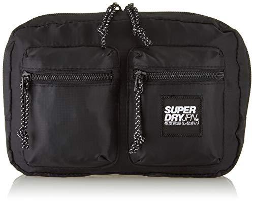 Superdry Herren Utility Pack Schultertasche Schwarz (Black)
