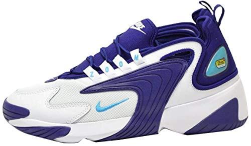 Nike Zoom 2k, Chaussures d'Athlétisme Homme, Multicolore (White/Lt Blue Fury/Regency Purple 104), 47.5 EU