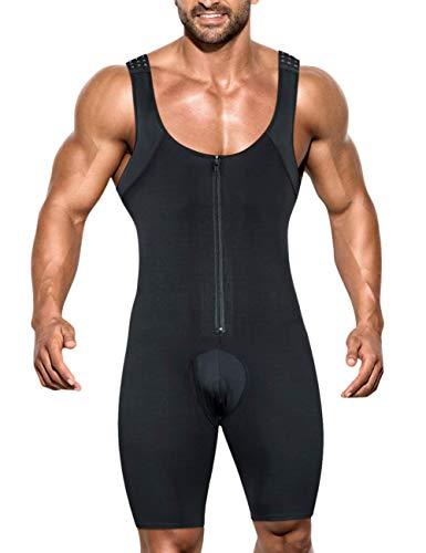 Ovnshery Faja Reductora Hombre de Fitness Faja CompresionRopa Interior para Abdomen Cintura Body Shaper 🔥