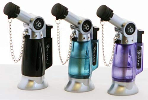 GStar TorchZilla Series Table Torch Lighter with Bendable Angled Head in Assorted Colors