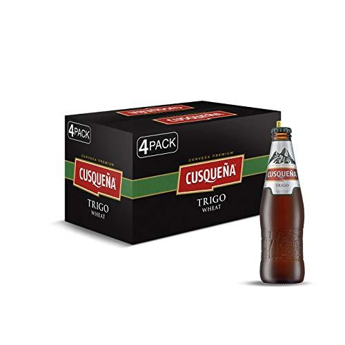 5. Cusqueña – Cerveza de trigo (pack de 24 botellas) de 330 ml con 4.9% de alcohol