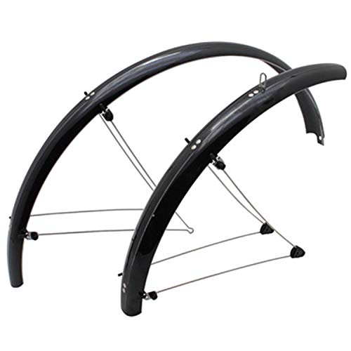 Spatbord voor mountainbike, 24 inch, Stronglight Country, 54 mm, zwart (paar)