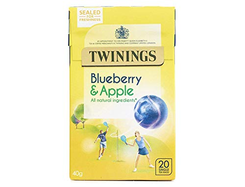 Twinings Blueberry y Apple Té - 20 bolsitas