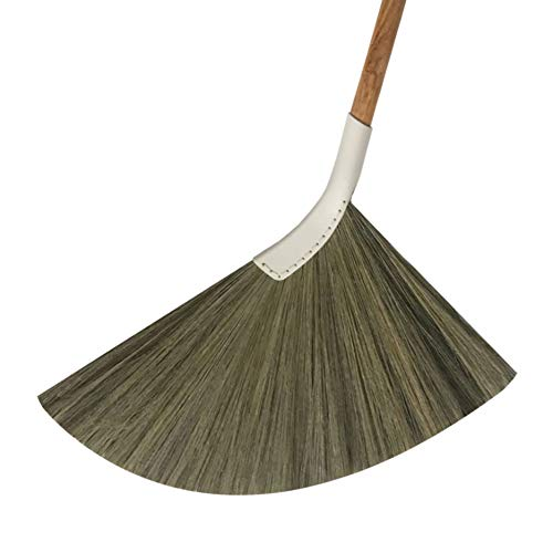 SWEEPY light - Indoor Grass Broom - Long Handle Broomstick for House, Garage, Office, Lobby Room, Kitchen