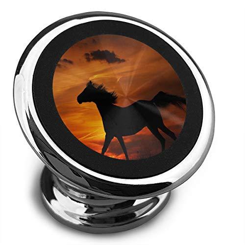Amoyuan Magnetische Telefoonhouder Dusk Wild Horse Auto Telefoonhouders Voor Auto Met Een Super Sterke Magneet