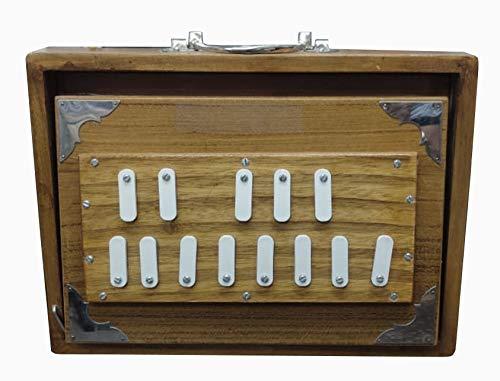 Shruti Box Surpeti 432 Hz speziell für BHAJAN KIRTAN YOGA. Massives Teakholz 13 Stopper Long Sustain