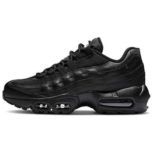 Nike Air Max 95 Recraft GS Unisex Zapatillas Zapatillas Zapatillas CJ3906 (Negro/Negro-Blanco 001), color Negro, talla 37.5 EU