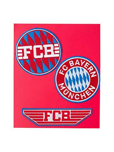 FC Bayern München Aufnäher 3er Set