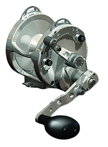 Avet 2-Speed H5.4:1,L2.4:1 Lever Drag Reel, Silver -  Falcon Rods, HX5/2S