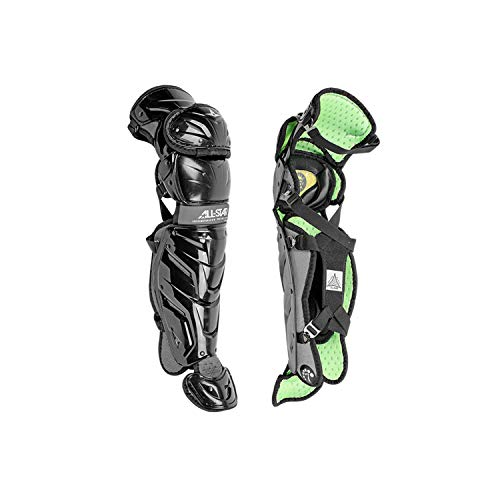All-Star LG1216S7XBK S7 Axis/Leg Guards/Ages 12-16 BK