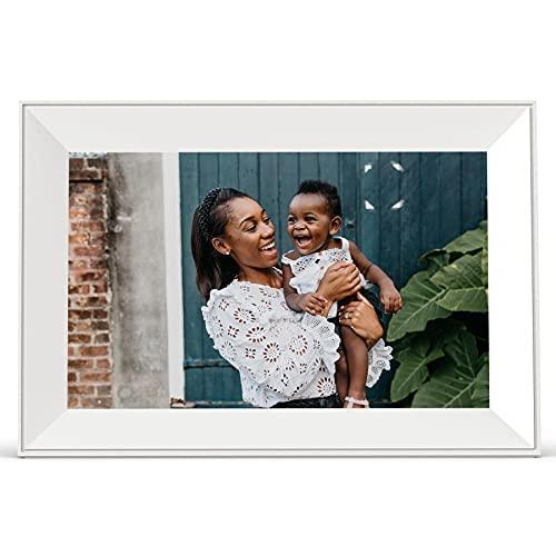 Aura Carver Smart Digital Picture Frame 10.1 Inch HD WiFi Cloud Digital Frame Free...