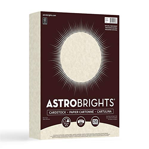 Astrobrights Laser, Inkjet Print Card Stock - 30%