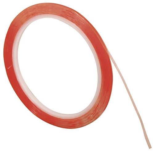 Rayher Hobby 30202000 Doppelklebeband, extra stark, 9 mm, 10 m auf Rolle, transparent, säurefrei, hitzebeständig bis 80°C