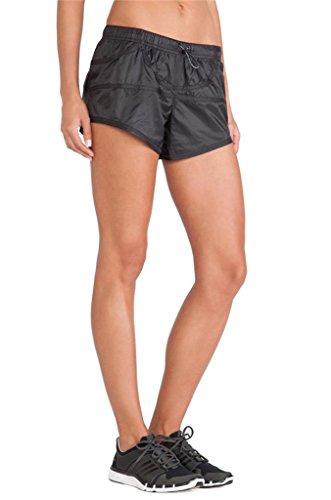 Adidas by Stella McCartney Woven Run Shorts M60296 Größe L Schwarz