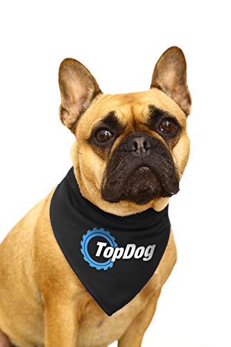 Spoilt Rotten Huisdieren Top Hond - Top Gear Iconische Retro Logo S2 Hond Bandana Ideaal voor Benzine Hoofden Kleine Honden Jack Russells, Terriers & Cockerpoo