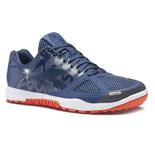 Reebok Mens Crossfit Nano 2.0 Training Shoe (8 D(M) US, Blue/Navy/Lava/White)
