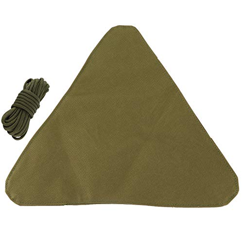 Paño de Taburete Triangular, Taburete de Camping Paño de Taburete Estable Plegable Paño de Taburete de trípode Paño de Taburete para Senderismo para Acampar al Aire Libre para Viajes de