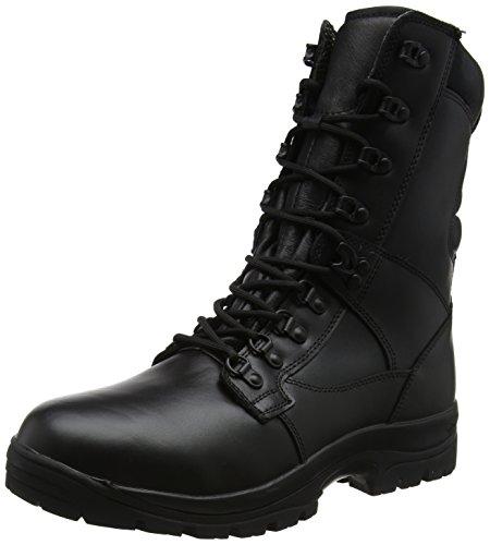 Magnum Elite II Leather, Botas de Trabajo Unisex Adulto, Negro (Black)