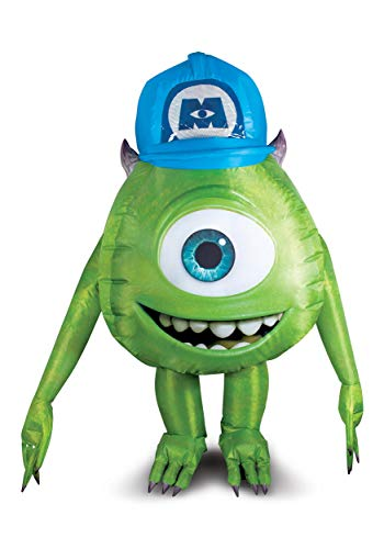 Monsters Inc Adult Mike Wazowski Inflatable Costume - ST Green