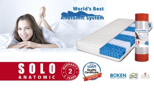TED BED Anatomico Materasso a molle insacchettate, arrotolato 80/190