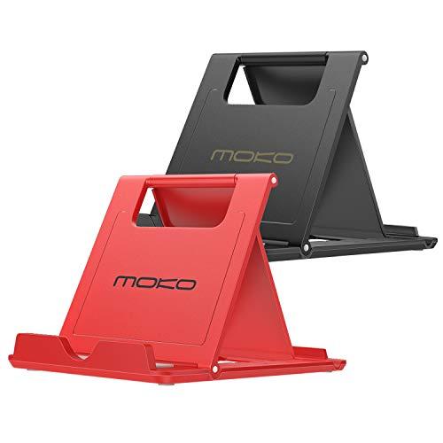 MoKo Mini Portable Handy/Tablet/E-Reader Ständer 2 Pack, Desktop Halterung für 6-8