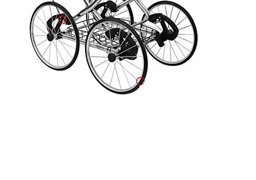 Räder für den Kinderwagen Amberline Classica Retro Radsatz gepumpt 14 Zoll
