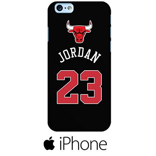 Urban Kaos Custodia Cover Case NBA Basket Michael Jordan Chicago Bulls 23 (iPhone 6 6s Morbida)