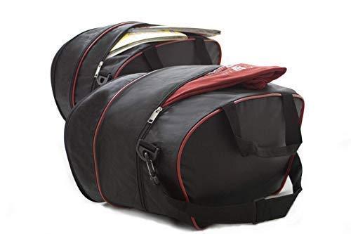 Passgenau Motorrad Kofferinnentaschen 1 Paar für Ducati MULTISTRADA 1200 Motorrad