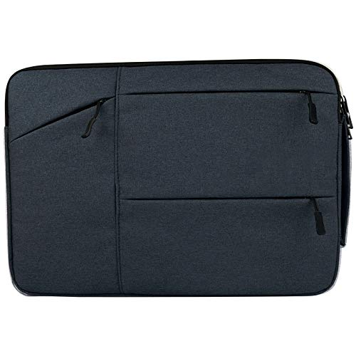 WXX Universal Multiple Pockets Wearable Oxford Cloth Soft Portable Simple Business Laptop Tablet Bag, For 15.6 inch and Below Macbook, Samsung, Lenovo, Sony, DELL Alienware, CHUWI, ASUS, HP (Black)