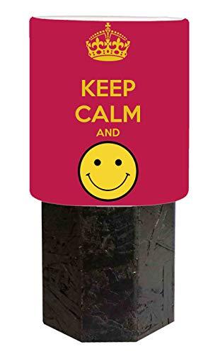 Pantalla negra Keep Calm and Smile