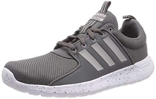 adidas Herren Cloudfoam Lite Racer Gymnastikschuhe, Grau (Grey Four F17/Grey Two F17/Ftwr White), 43 1/3 EU