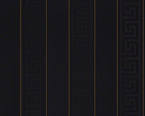 A.S. Creation 935244 Line Versace - Papel pintado, diseño de 3 patrones, multicolor