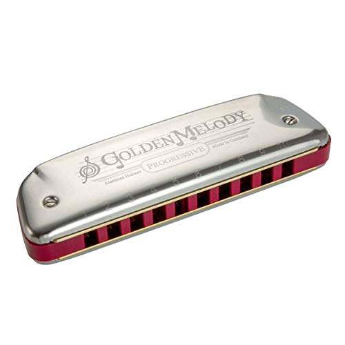 Hohner Armónica Golden Melody 542 20CX