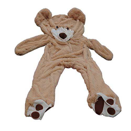 "Fengheshun 78"" (6.5 Feet) Giant Teddy Bear Cover (Not Stuffed), Best Gift for Girlfriend on Valentine's Day"