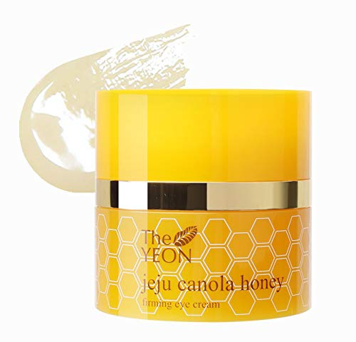 Korean Skin Care - The YEON Jeju Canola Honey Straffende Augencreme (30 ml) / Koreanische Hautpflege
