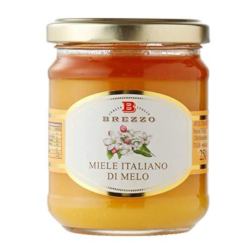 BREZZO 非加熱 イタリア産天然はちみつ りんご 250g